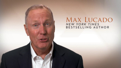 Max Lucado is an American author and pastor at Oak Hills Church in San Antonio, Texas.